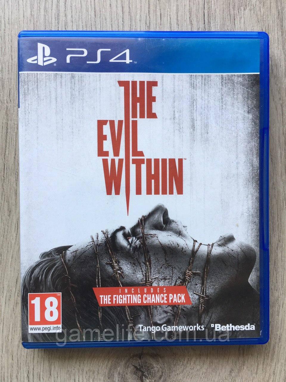 The Evil Within (рус. суб.) (б/у) PS4