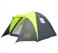 Палатка 3-х местная с тамбуром GreenCamp