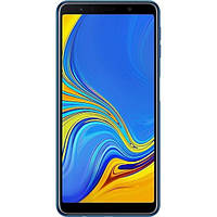 "Samsung SM-A750F Galaxy A7 2018 DS Blue 6"" RAM: 4Gb. ROM:64Gb Octa Core смартфон самсунг а7"