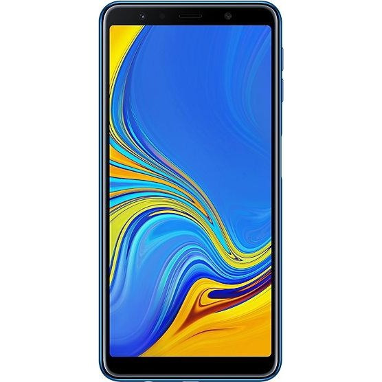 Купить Samsung SM-A750F Galaxy A7 2018 DS Blue 6 RAM: 4Gb. ROM:64Gb Octa Core смартфон самсунг а7