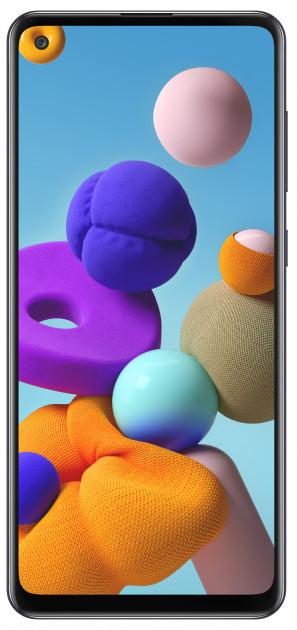 """Samsung SM-A217F Galaxy A21S DS Black 6,5"""" 3-32Gb 5000мач Type-c, квад камера смартфон самсунг а21с"""