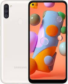 "Samsung SM-A115F Galaxy A11 DS White 6,4"" 2-32Gb 4000мач, сканер пальца, камера в экране смартфон самсунг а11"