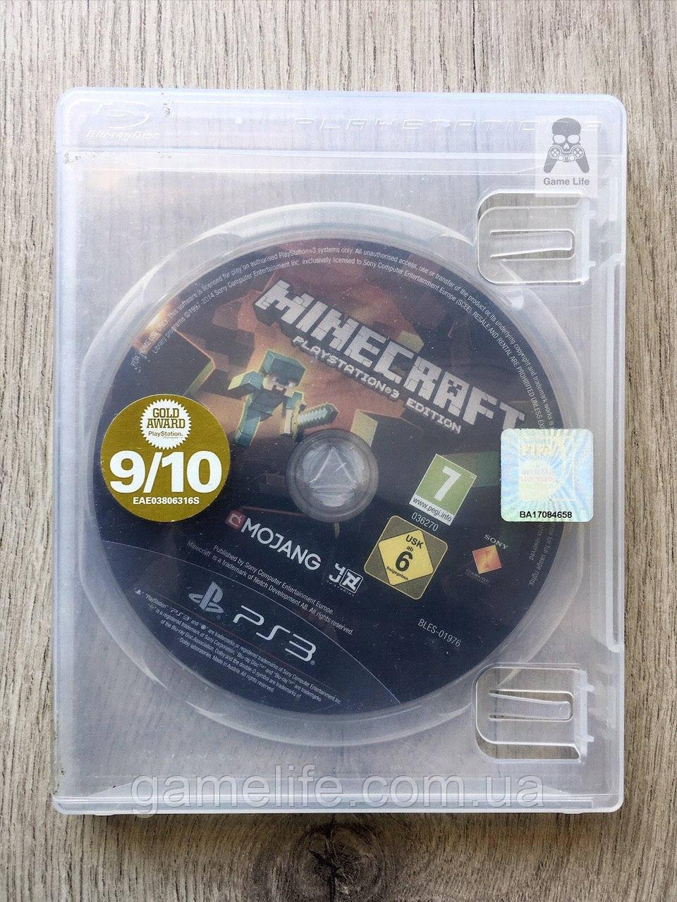 Minecraft (без коробки) (рус.) (б/у) PS3