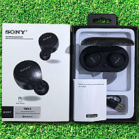 Беспроводные вакуумные блютуз наушники Sony TWS 5 черные
