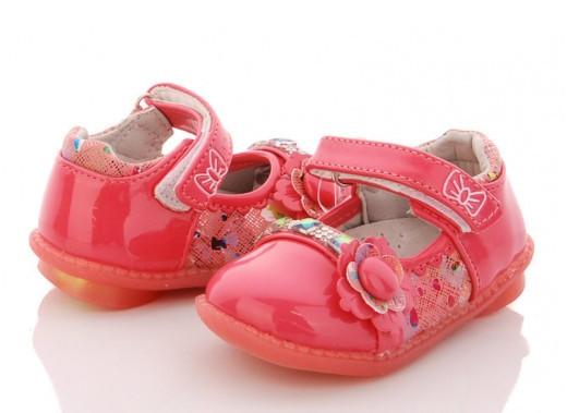 Туфли детские розовые,туфли на девочку BBT-F28-2