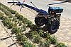 Мотоблок Forte МД-101 GT (фреза 1,2 м, синій), фото 5
