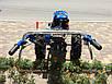 Мотоблок Forte МД-101 GT (фреза 1,2 м, синій), фото 7