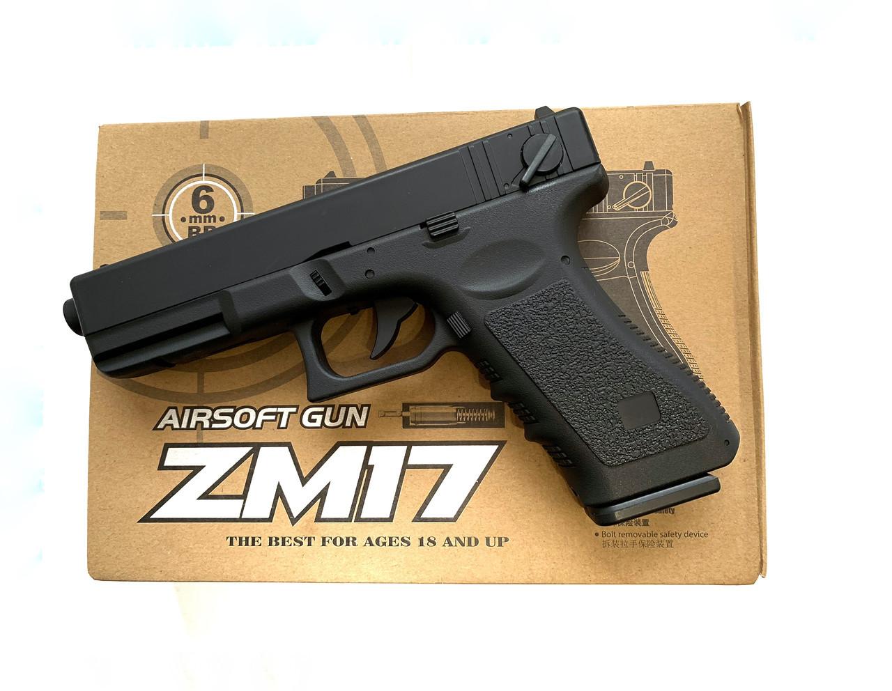 Пистолет на пульках ZM17