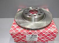 Тормозной диск Фольксаген кадди /Caddy/ Гольф 5 2004-  передний вентилируемый [280x22] Германия Febi  22904
