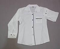 Белая рубашка для мальчика, 11, 12, 13 лет