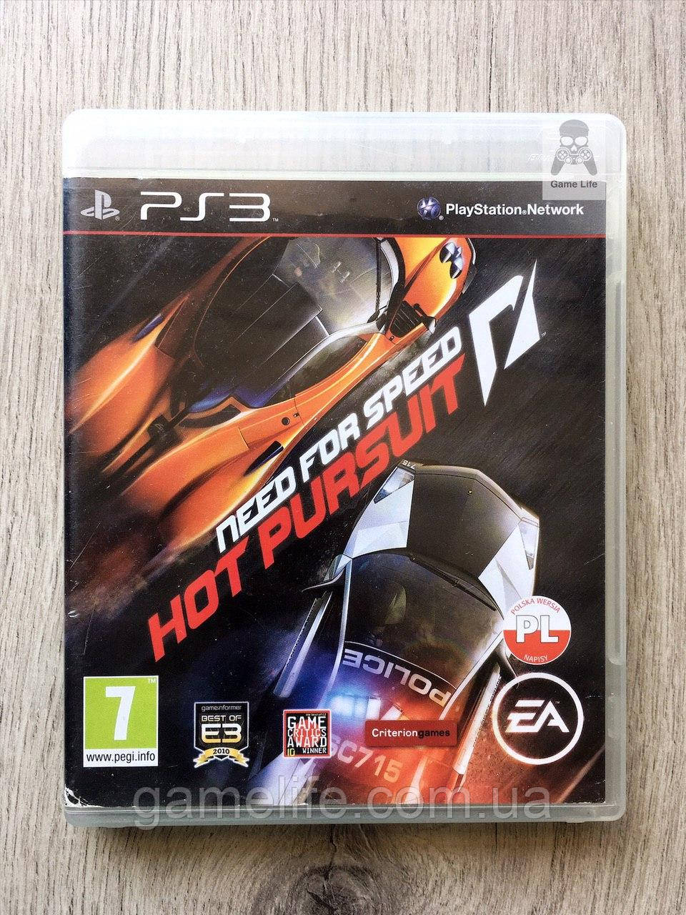 Need For Speed Hot Pursuit (рус.) (б/у) PS3
