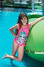 Детский купальник для девочки Same game Турция Купальник с куколкой LOL 110, Розовый