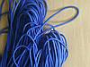 Шляпная резинка синего цвета (100 м)
