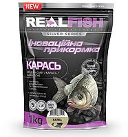 "Прикормка рибальська Real Fish ""КАРАСЬ"" ХАЛВА"