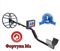Металлоискатель Fortune M2/Фортуна М2 с дискриминацией до 2 метров Черный (MET-FM2)
