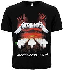 "Футболка Metallica ""Master Of Puppets"", Размер S"