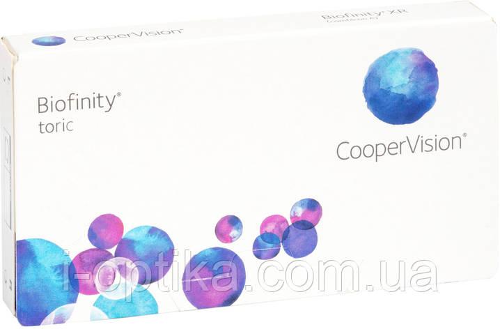 Торические контактные линзы Biofinity, фото 2