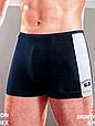 Трусы мужские боксеры Wezege 9595. Набор из 2 штук в размере 3XL, фото 2
