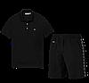 Летний костюм Lacoste Knit Side Stripe Shorts (лакоста), фото 8
