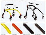 Заднеопорные ходунки для активных детей с ДЦП R82 Crocodile Gait Trainer size 2, фото 3