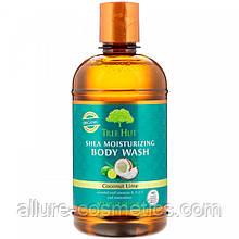 Tree hut Зволожуючий гель для душу з маслом ши кокос і лайм 502 гр