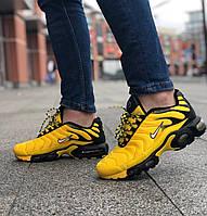 Мужские кроссовки Nike Air Max Plus TN Yellow \ Найк Тн+ Желтые \ Чоловічі кросівки Найк Тн+ Жовті
