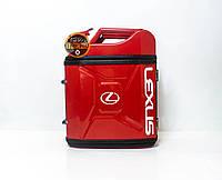 Канистра бар 20л с маркой авто Лексус / Lexus Оригинальный подарок