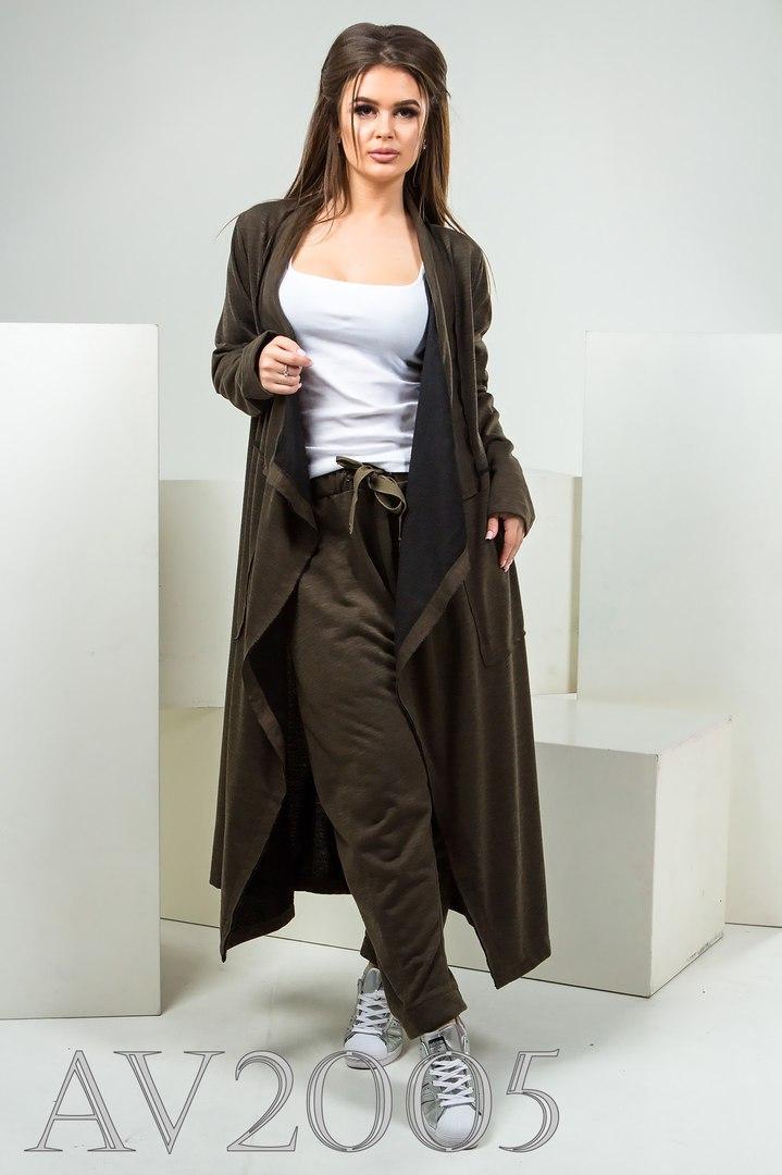 Костюм женский кардиган  штаны