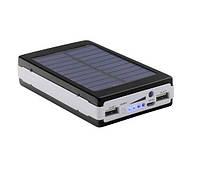 Универсальная батарея повербанк Solar Original PowerBank + Led 50000 mAh B, Портативное зарядное устройство