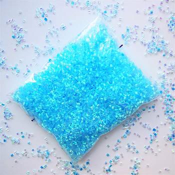 Бингсу Бидс (Bingsu Beads)  голубые, 30г (~400мл)