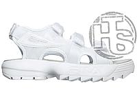 Женские сандалии Fila Disruptor 2 Sandal All White FS1HTZ3083X