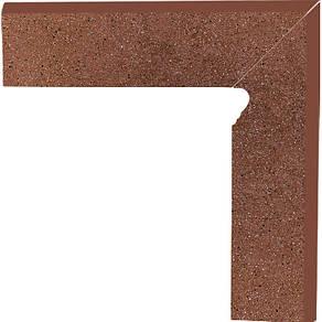 Плинтус керамический Paradyz Taurus Brown Cokol Dwuelementowy Schodowy Lewy 8.1x30, фото 2
