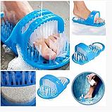 Массажный тапочек для душа с пемзой Easy Feet (цена за 1-шт), фото 2