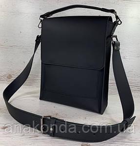 510р-XL Натуральная кожа Планшет сумка мужская формат А4 черная кожаная сумка мужская планшет на плечо