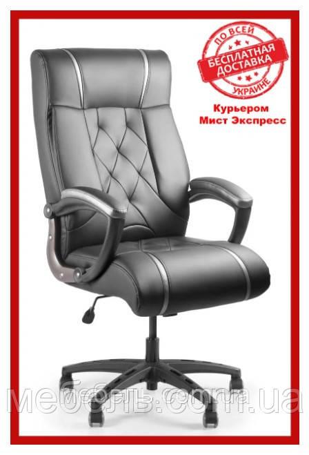 Кресло для работы дома Barsky BD-01 Design PU blaсk, кресло ПУ, черный