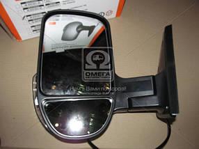 Зеркало боковое ГАЗ 3302 нов. обр. с поворот. лев. серебрист.   46.8201021-60 (0505802095)
