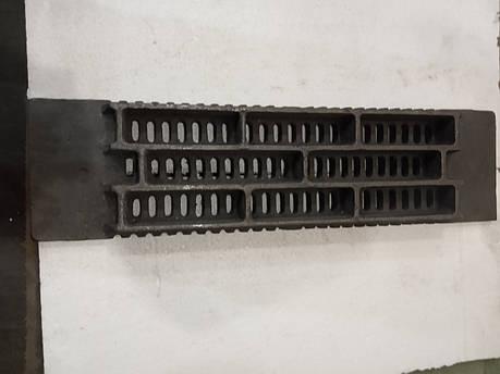 Решетка колосниковая чугунная для котла 950х250 мм 38кг, фото 2