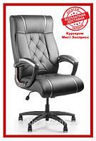 Офисное компьютерное кресло Barsky Design PU blaсk BD-01