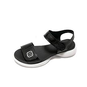Босоніжки жіночі TEONA 011 колір чорний