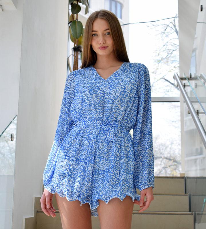 Летний комбинезон-платье