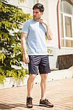 Мужской летний спортивный костюм футболка и шорты размеры: 46, 48, 50, 52, 54, фото 8