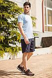 Мужской летний спортивный костюм футболка и шорты размеры: 46, 48, 50, 52, 54, фото 3