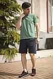 Мужской летний спортивный костюм футболка и шорты размеры: 46, 48, 50, 52, 54, фото 4