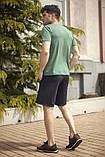Мужской летний спортивный костюм футболка и шорты размеры: 46, 48, 50, 52, 54, фото 9