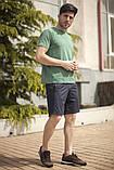 Мужской летний спортивный костюм футболка и шорты размеры: 46, 48, 50, 52, 54, фото 5