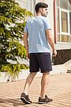 Мужской летний спортивный костюм футболка и шорты размеры: 46, 48, 50, 52, 54, фото 6