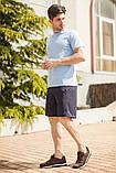 Мужской летний спортивный костюм футболка и шорты размеры: 46, 48, 50, 52, 54, фото 7