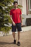 Мужской летний спортивный костюм футболка и шорты размеры: 46, 48, 50, 52, 54, фото 2