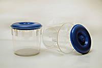 Баночка пластиковая для сыпучих продуктов 1 л