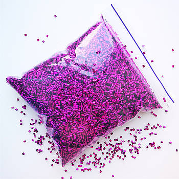 Бингсу Бидс (Bingsu Beads)  рубиновые, 50г (~700мл)